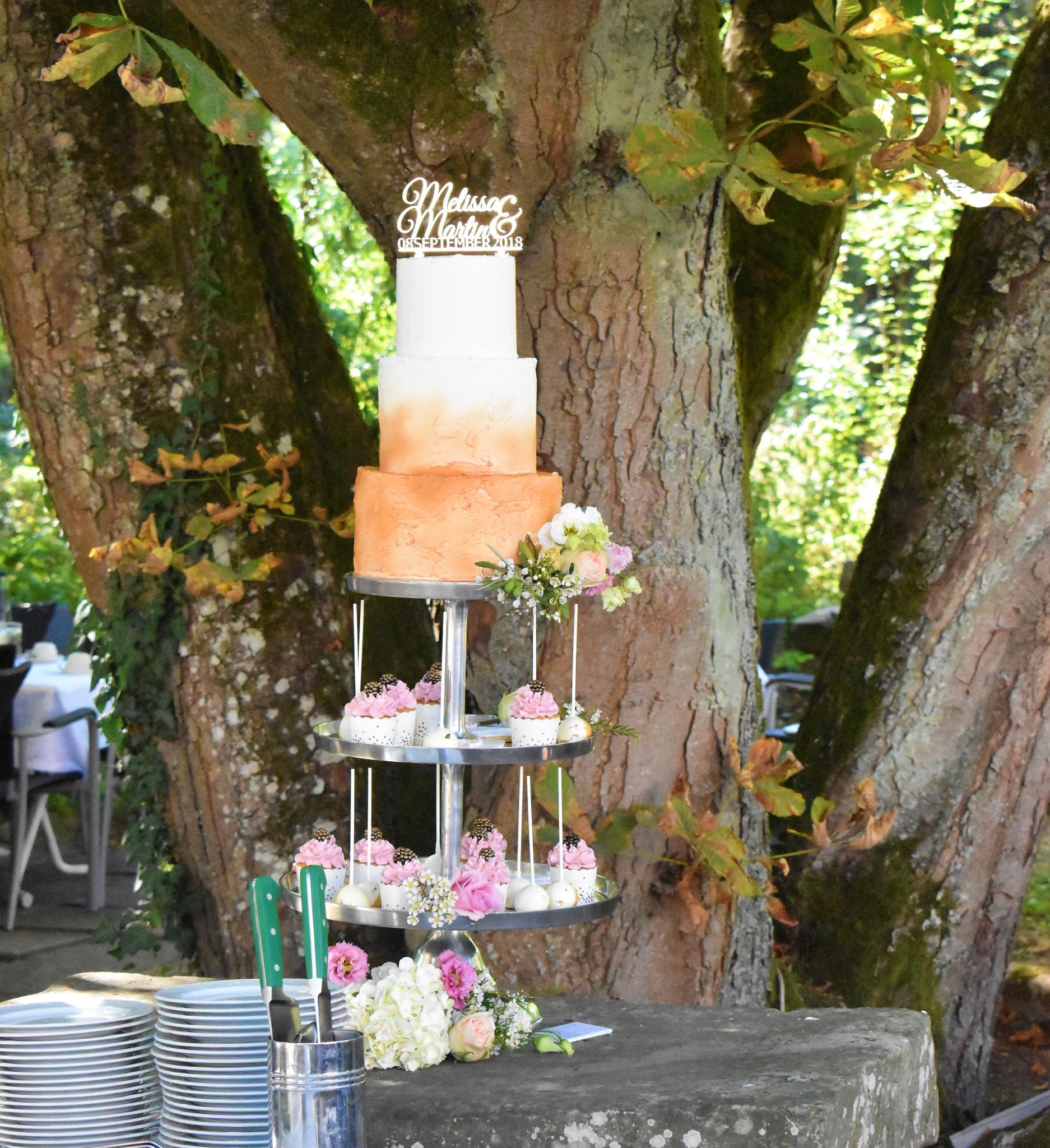 Wedding Tower rosegold