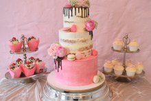 Rosa-Drip-plus-Cupcakes