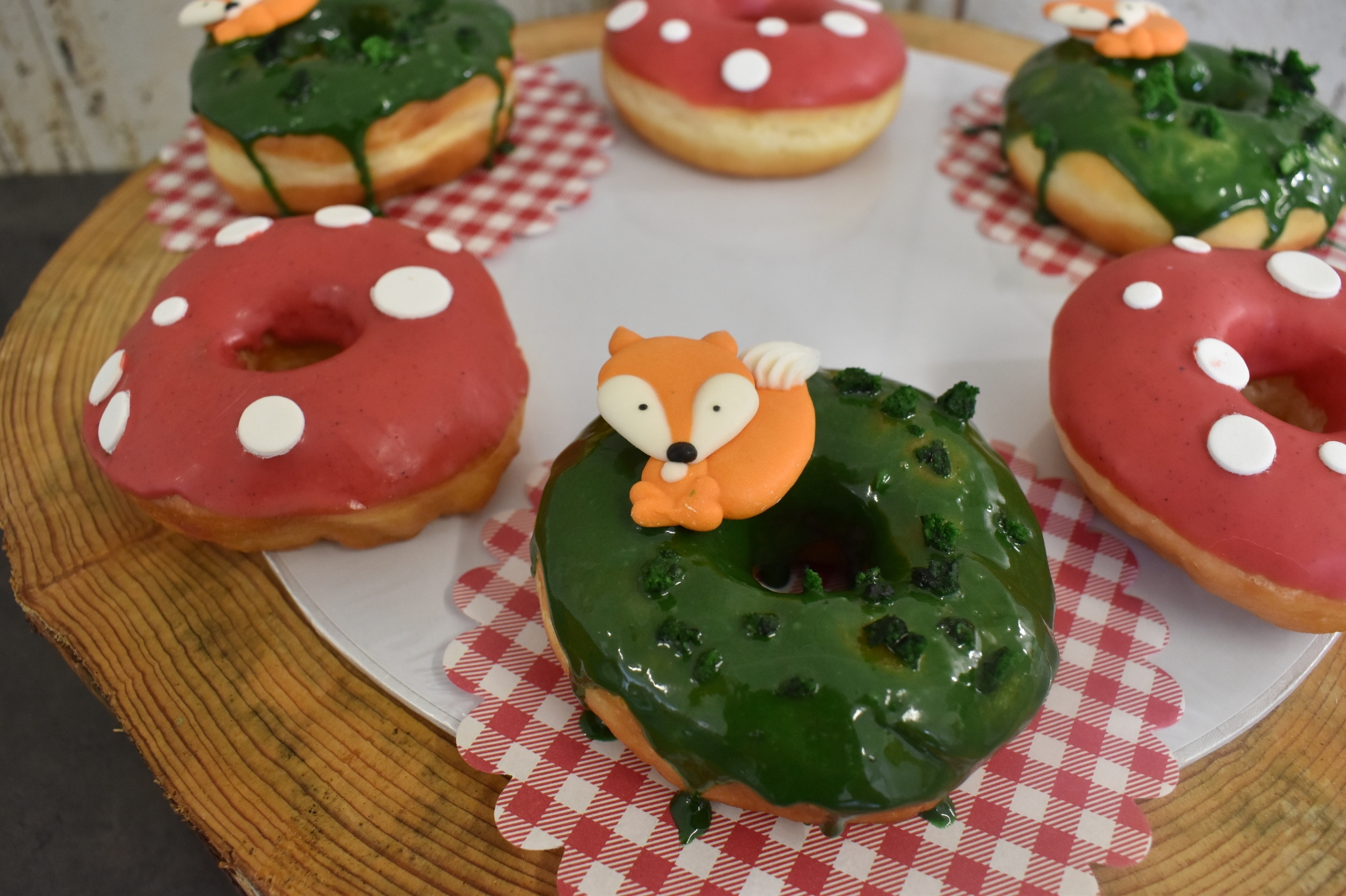 Donuts Waldtiere