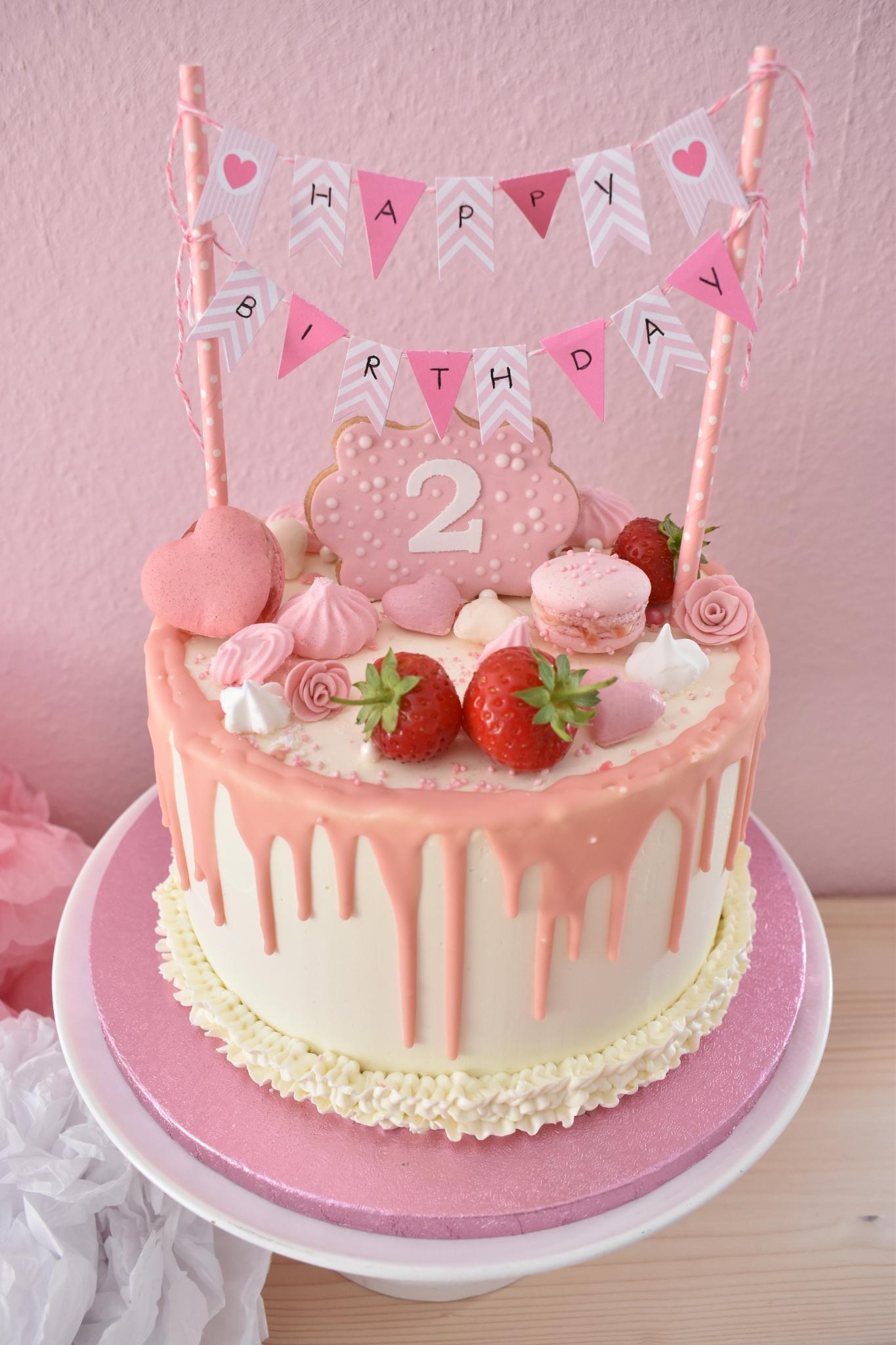 Dripcake 2ter Geburtstag