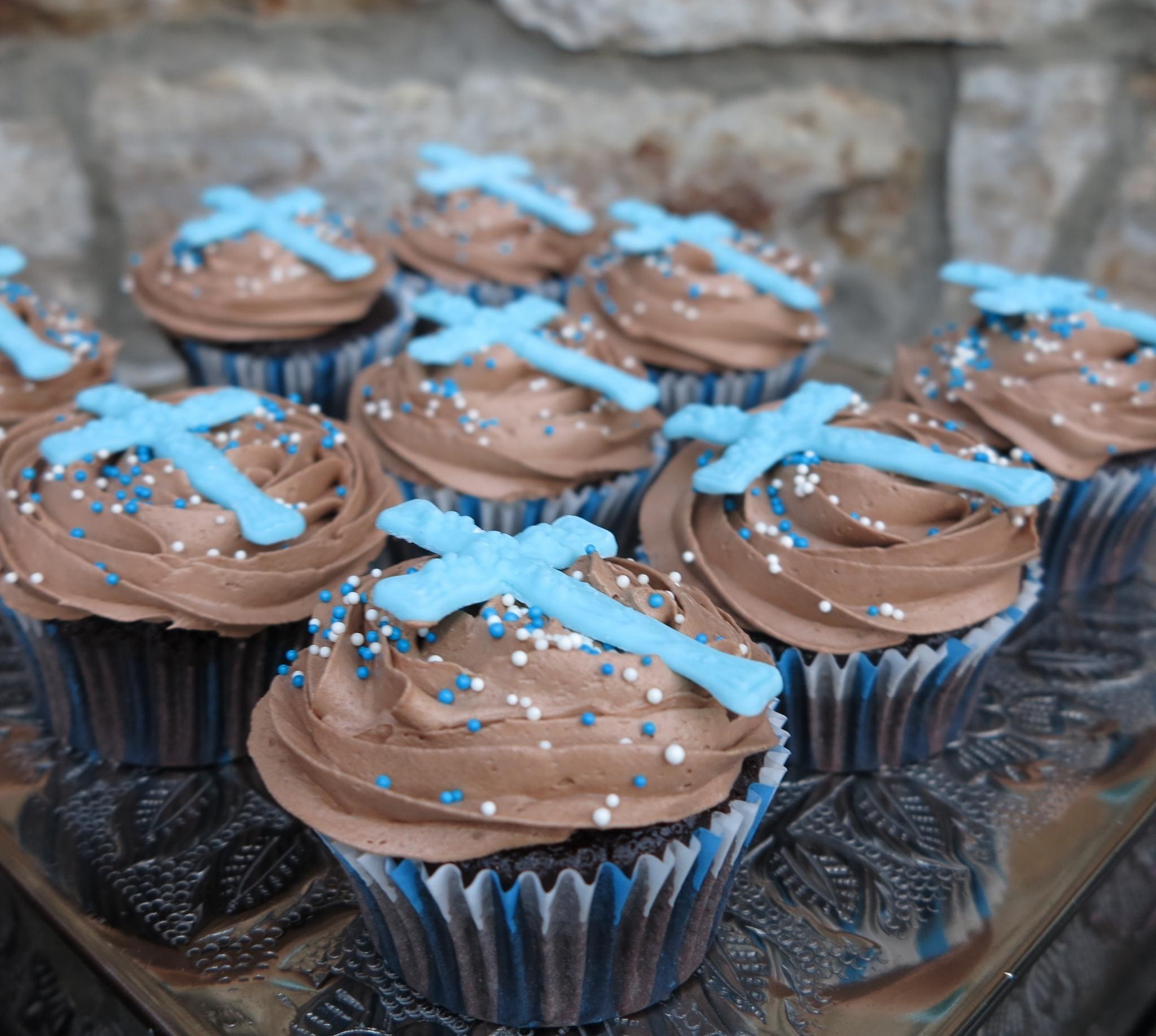 Kommunion Cupcakes