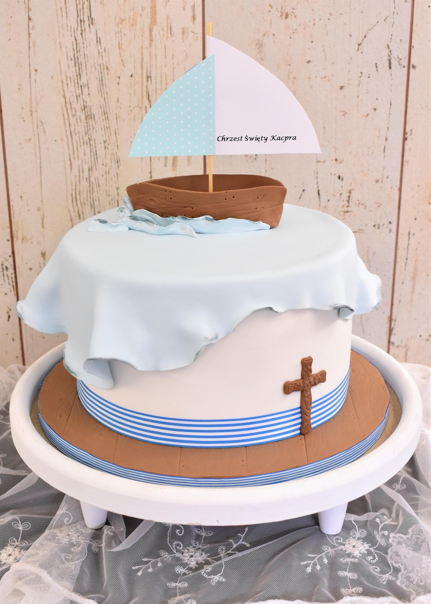 Tauftorte Schiff