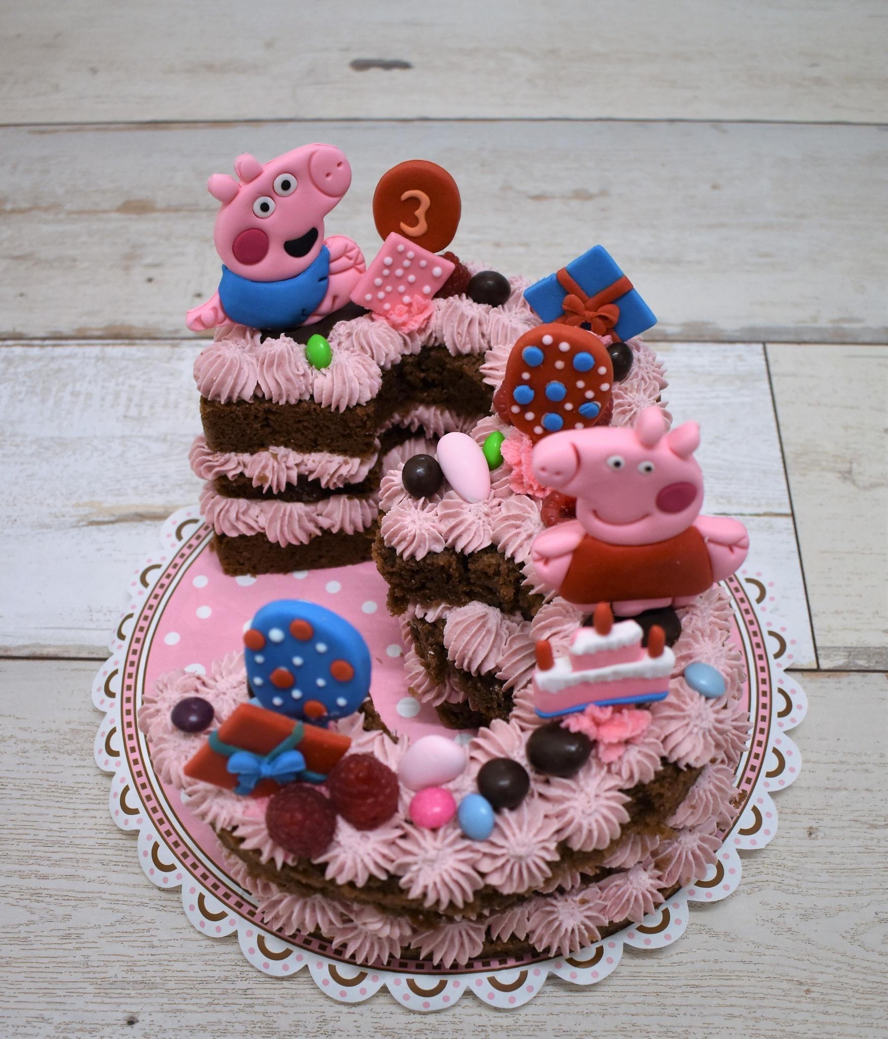 Zahlenkuchen Kindergeburtstag
