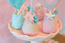 Cakepops-Meerjungfrau