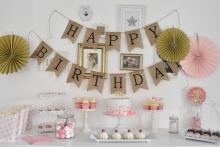 Candy Bar erster Geburtstag