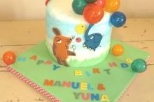 Geburtstag Elefant und Maus