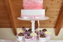 Taufe rosa Tower