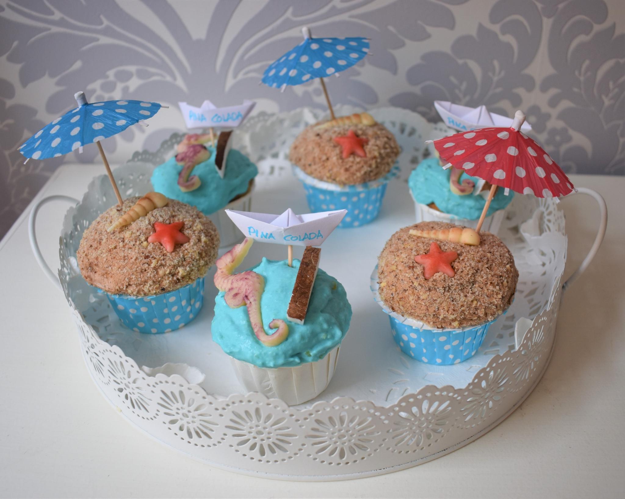 Meerescupcakes
