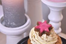 Weihnachtscupcake